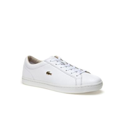 "<a href=""https://lacoste.com.au/product/women-s-straightset-leather-sneakers-with-golden-croc#32CAW0146001"" target=""_blank"">Lacoste Straightset Leather Sneaker with Gold Croc,$199.95.</a><br>"