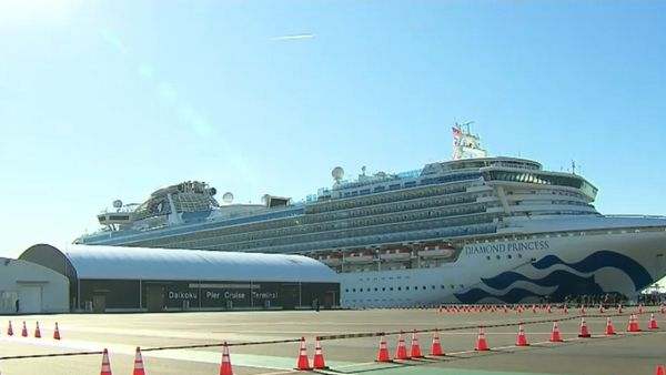 Six new coronavirus cases confirmed on Japanese cruise ship
