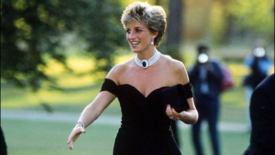 Princess Diana at the Serpentine Gallery summer party, 1994