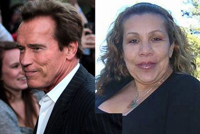 Scathing comments about how attractive the Schwarzeneggers' maid was threatened to drown out the real scandal when the former California governor and impending action star (again) revealed he'd fathered a child with her and kept the whole thing secret.