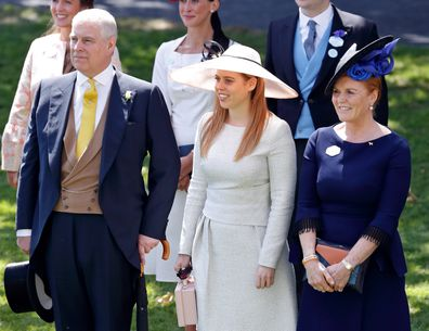 Prince Andrew and Sarah Ferguson with Princess Beatrice.