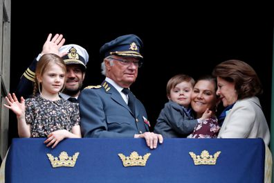 Swedish royal family children royal guide
