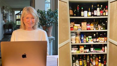Martha Stewart organised her pantry and it's surprisingly relatable