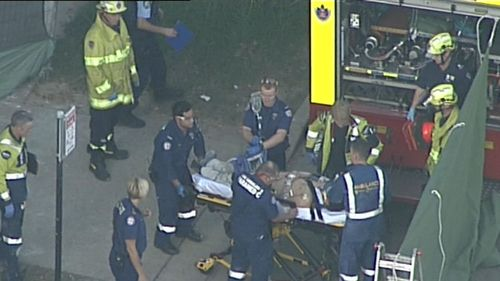The 25-year-old was found unconscious at the site in Eastwood. (9NEWS)
