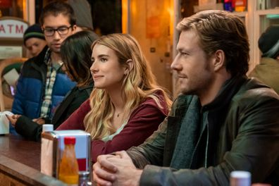 Emma Roberts, Luke Bracey, Netflix rom-com, movie, Holidate