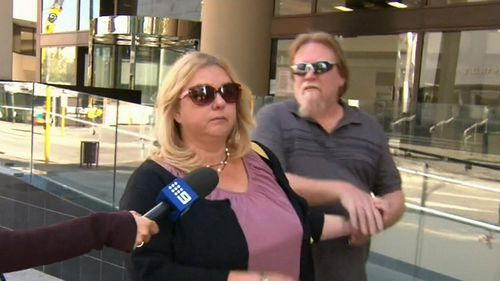 The dogs' owner was handed an eight month suspended sentence. (Image: 9NEWS)