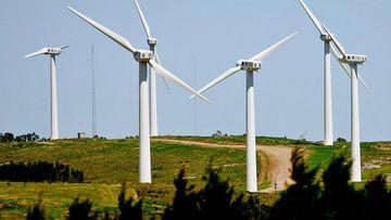 A Uruguayan wind farm. (AAP)