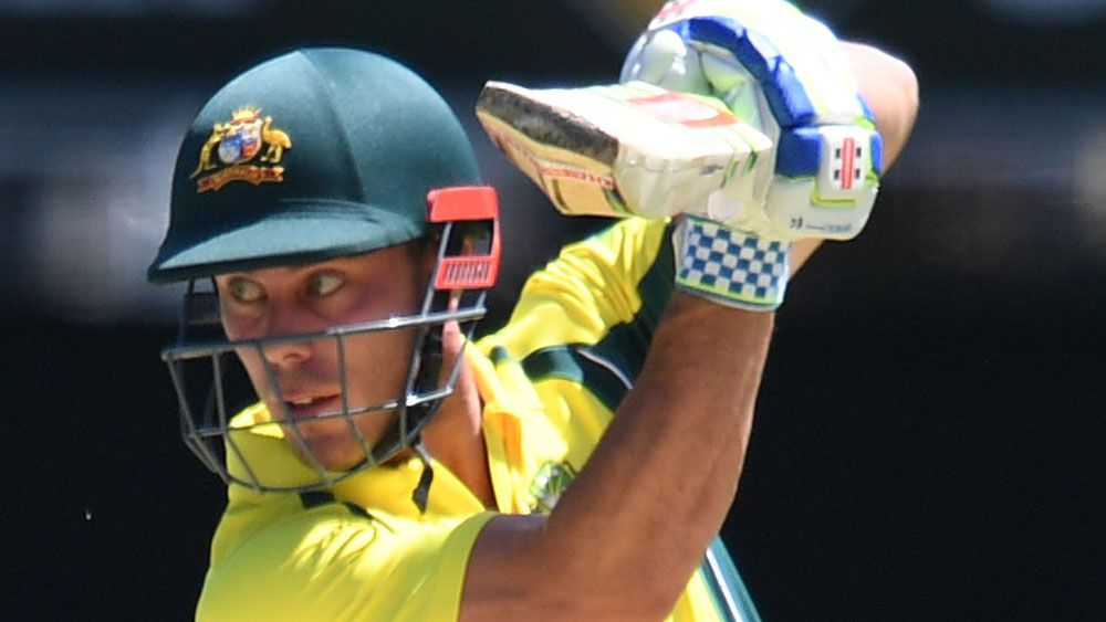 Chris Lynn in action for Autralia. (AAP)