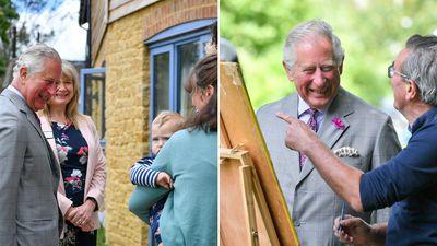 Prince Charles visits Dorset, May 2019