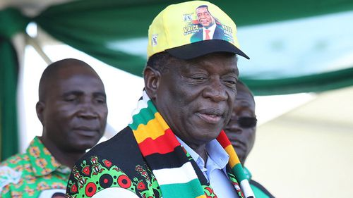 Explosion at campaign rally for Zimbabwe's President Emmerson Mnangagwa reportedly 'assassination attempt'