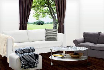 EKTORP two-seat sofa bed, $1299.