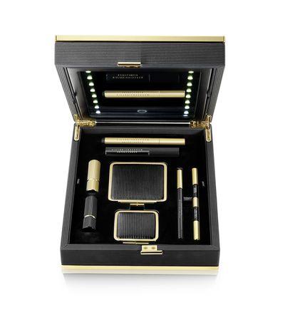 "<a href=""https://www.victoriabeckham.com/beauty/"" target=""_blank"">Victoria Beckham for Est&eacute;e Lauder Daylight Edition, $1600.</a>"