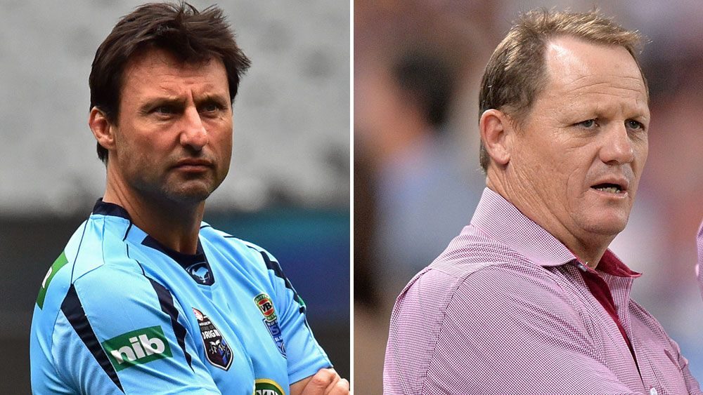 Laurie Daley (l) and Kevin Walters. (AAP and Getty)