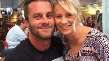 Brisbane dad Josh Jones was hurt in the Brisbane rugby brawl.