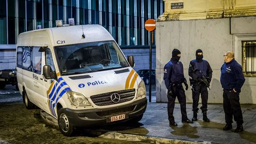 Belgian police remain on high alert following the gunfight in Verviers. (Getty Images)