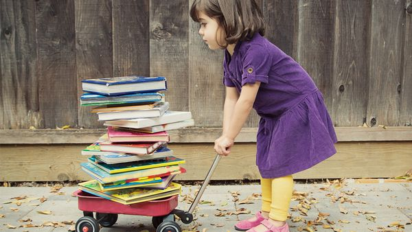 Book club: trying to tame a toddler is a tricky business. There's a book about that. Image: Getty