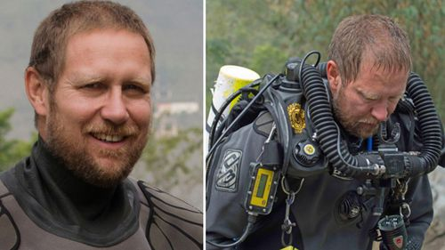 Dr Richard Harris has been labelled 'the best' for his work in rescuing the trapped boys. Picture: AAP