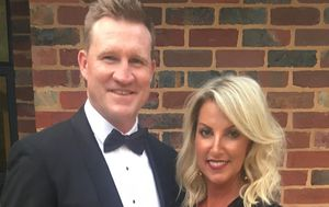 Collingwood coach Nathan Buckley and wife Tania confirm split