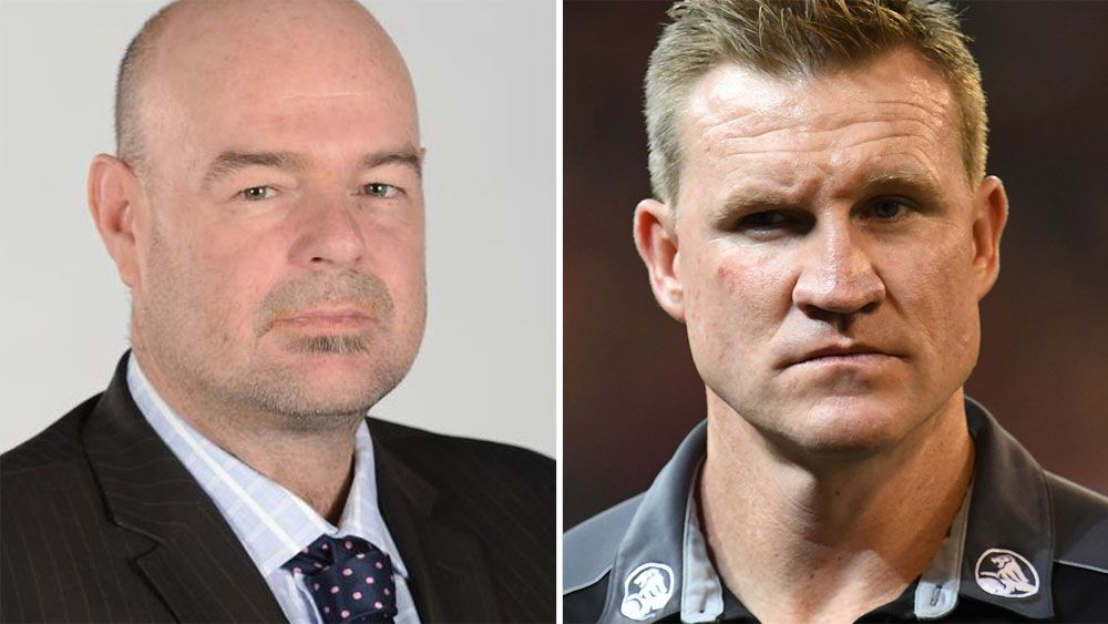 """Collingwood coach Nathan Buckley slams AFL journalist for """"inappropriate"""" Alex Fasolo interview"""
