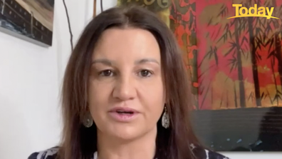 Jacqui Lambie said she decided to get jabbed 'for the sake of the elderly' in Tasmania.