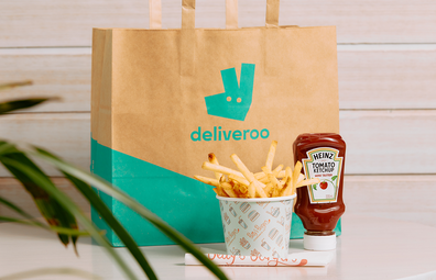 Deliveroo and Betty's Burgers fries giveaway