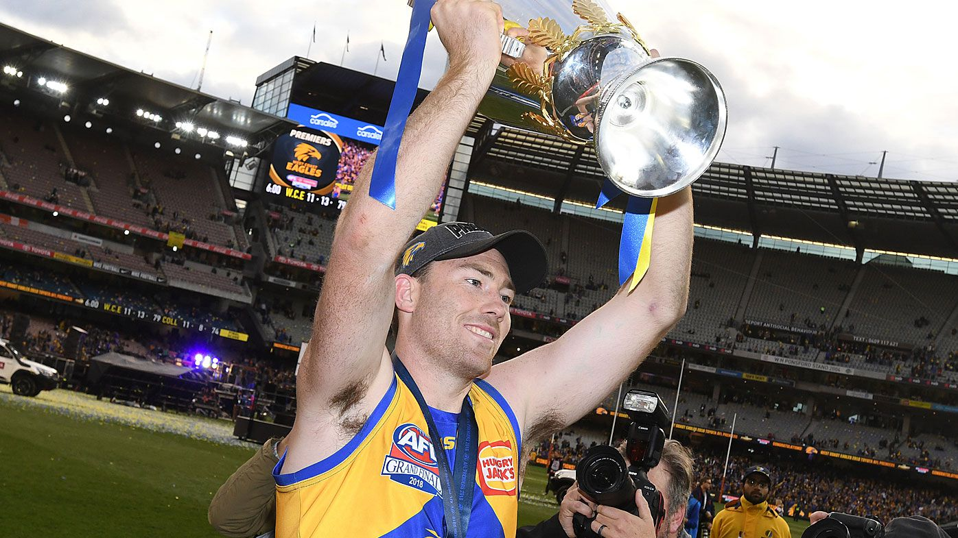 West Coast Eagles hero Jeremy McGovern had internal bleeding before AFL grand final victory over Collingwood