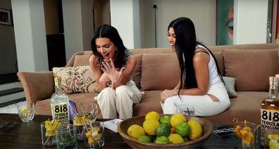 Kendall Jenner, Kourtney Kardashian