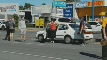 Woman 'attempts multiple carjackings' on busy street