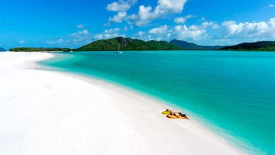 <strong>Whitehaven Beach, Whitsundays, Queensland</strong>
