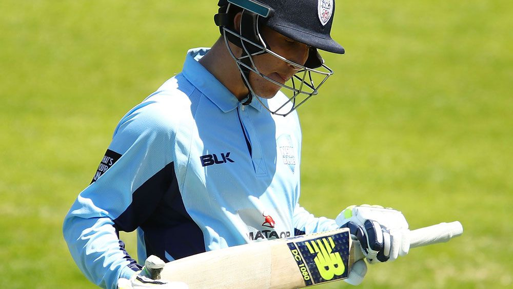 Nic Maddinson will miss NSW's Sheffield Shield match due to the effects of concussion. (Getty Images)
