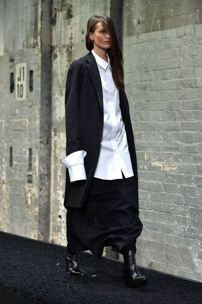 Strateas.Carlucci's oversized shirt
