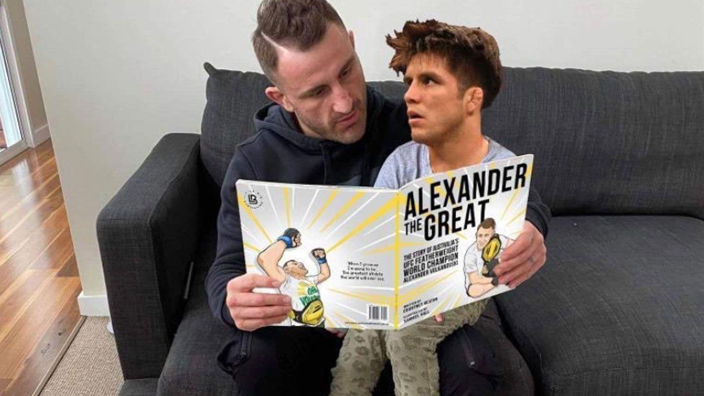 Aussie Alexander Volkanovski's hilarious come-back for UFC rival
