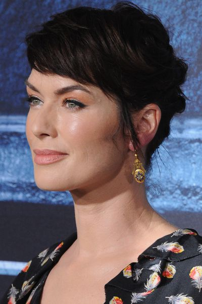 Lena Headey (who plays Cersei Lannister) brought some regal charm.
