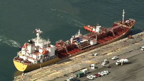 Crew on board the Stolt Sakura, docked at Fremantle, have tested positive to COVID-19.
