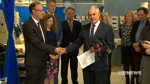 The Federal Government is injecting $38 million into the world-first program. Picture: 9NEWS