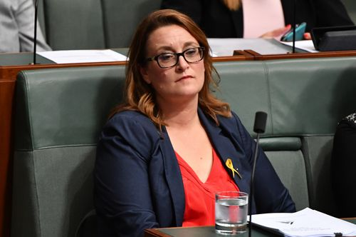 Labor member for Braddon Justine Keay during Question Time in the House of Representatives at Parliament House in Canberra. (AAP)