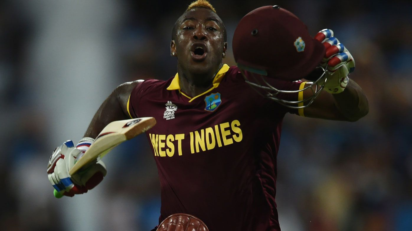West Indies' Andre Russell