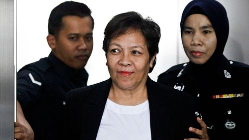 Sydney grandmother Maria Elvira Pinto Exposto has been sentenced to death in Malaysia for smuggling drugs into the country in 2014. Picture: AAP.