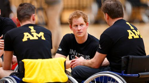 The prince is visiting Sydney to promote the 2018 Invictus Games. (Getty images)