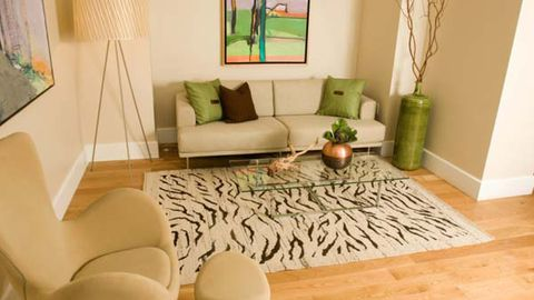 Adding one bright colour to a room works well (Thinkstock)