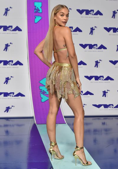 Victoria's Secret supermodel Jasmine Saunders with her tattoo.
