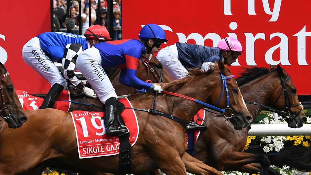 So close, yet so far for Ben Melham in Melbourne Cup