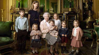 Prince George and Princess Charlotte, Windsor Castle, April 2016