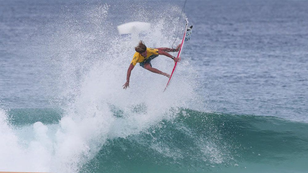 Matt Wilkonson gets air during the Oi Rio Pro in Brazil. (WSL)