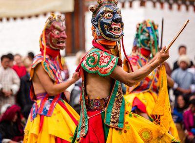 <strong>Jambay Lhakhang Festival, Bhutan</strong>