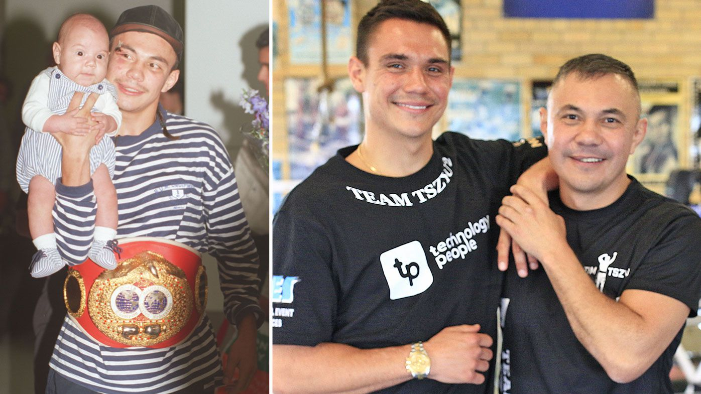 Tim Tszyu explains 'not the son' comment after Jeff Horn demolition, father Kostya's reaction