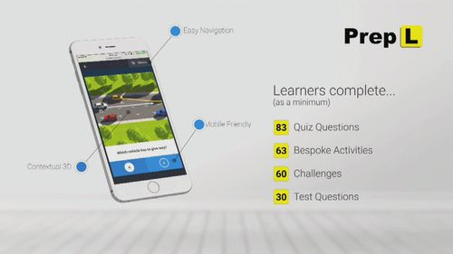 A new L-plate test will instil better driving habits, creators say.