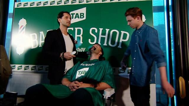 Bartel says goodbye to AFL's greatest beard
