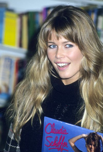<p>Soft Rosy Cheeks</p> <p>Muse -Claudia Schiffer in 1993</p>