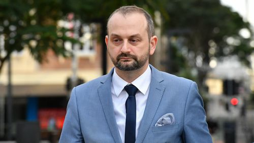 Former One Nation staffer Sean Black has pleaded not guilty to rape and assault. (AAP)